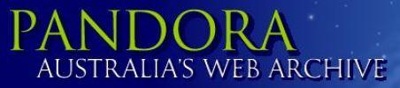 Pandora Australia's Web Archive Logo