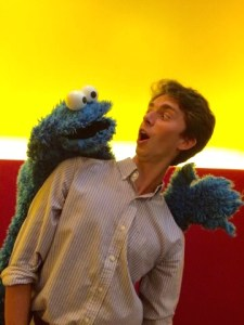 Jordan and Cookie Monster-2