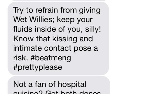 Urgent PTENS Meningitis Texts
