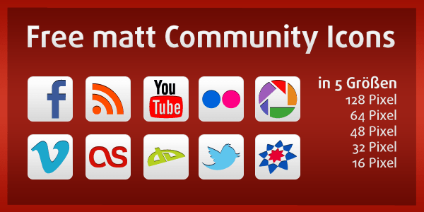 free matt community icons Free matt Community Icons