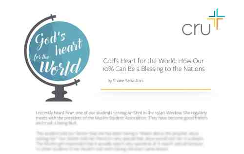 God's Heart for the World