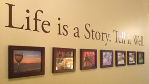 Biographies Matter - Tell your Story Wall Picture Frames
