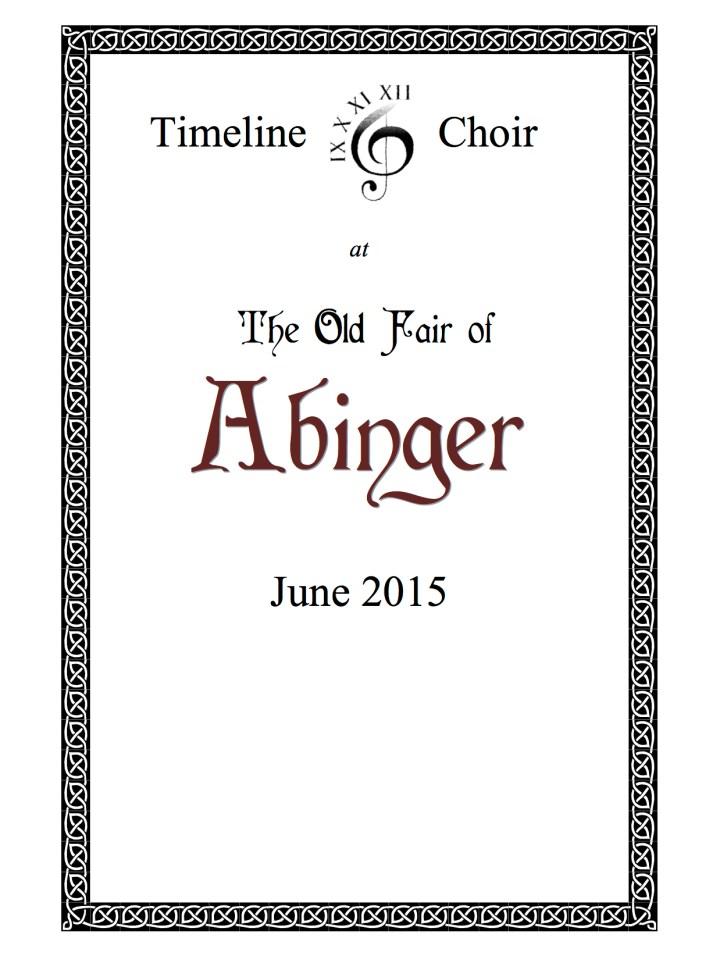 Abinger flyer
