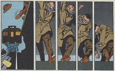panels from Bernie Krigstein's Master Race