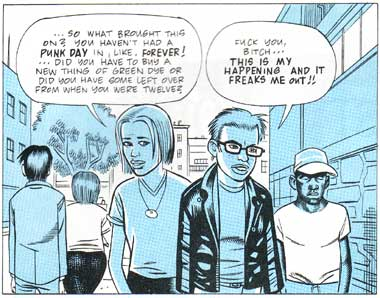 Panel from Ghost World