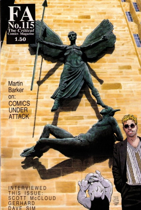 Dave Sim and Cerebus at Coventry Cathedral