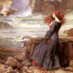 Miranda by John Williams Waterhouse