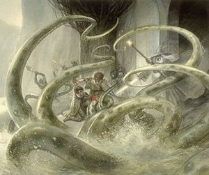 2014-06-16 John Howe Watcher in the Water