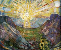 The Love of God (painting: The Sun by Edvard Munch)