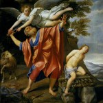 Abraham and Isaac as depicted by the Baroque painter Dominichino
