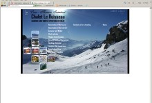 Chalet Le Ruisseau, Website Design, Norfolk and Kings Lynn