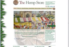 The Hemp Store, Website Design, Norfolk and Kings Lynn