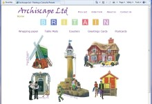 Archiscape, now SatinDrew Ltd - Website Design, Norfolk and Kings Lynn