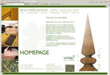 Wadlow Joinery, Website design