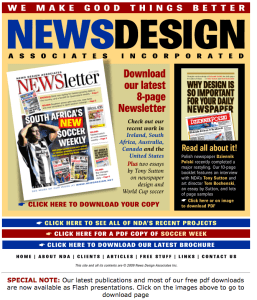News Design Associates Inc. website