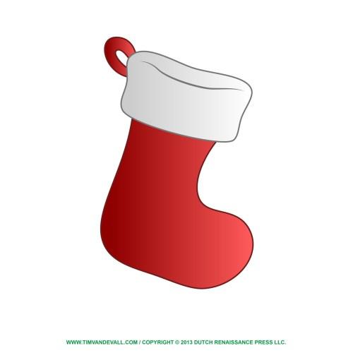 Medium Crop Of Christmas Stocking Template