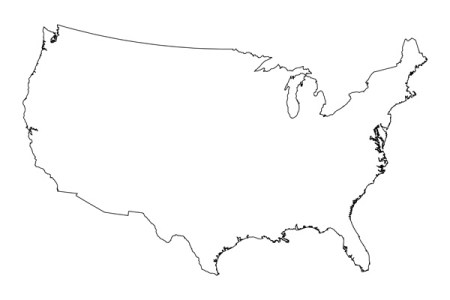 blank us map printable pdf