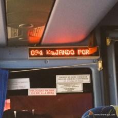 Geschwindigkeitsanzeige und Signal im Bus bei > 100km/h