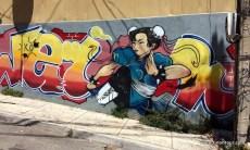 Graffiti überall in Valparaiso