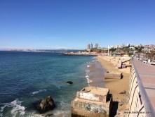 der Stand zwischen Valparaiso und Vina del Mar ... ein Traum, oder?