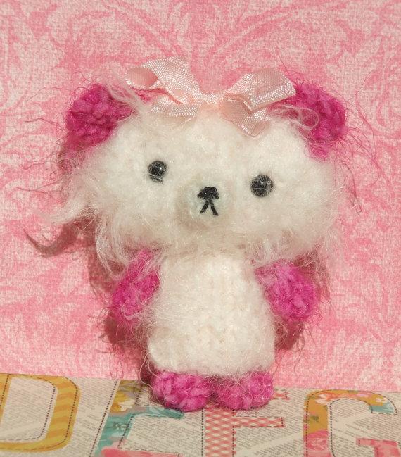 Knitted Bear by ViolaSueKnts