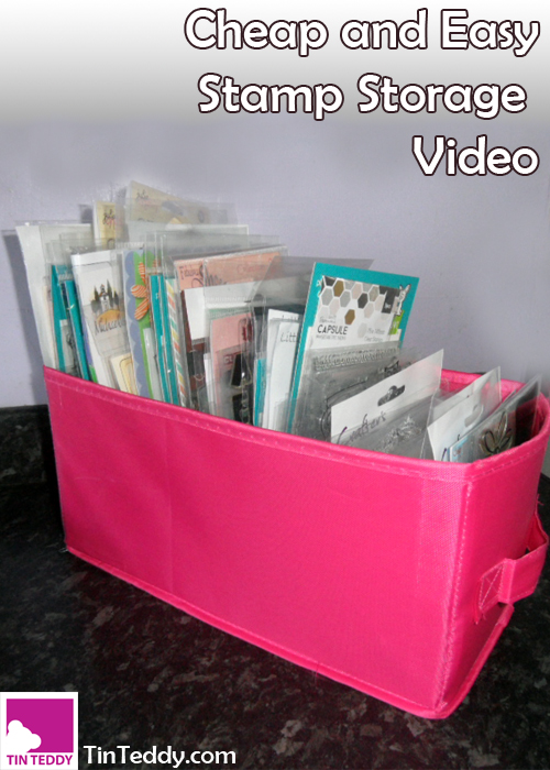 Cheap And Easy Stamp Storage Video