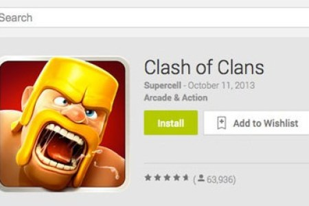 install clash of clans on android