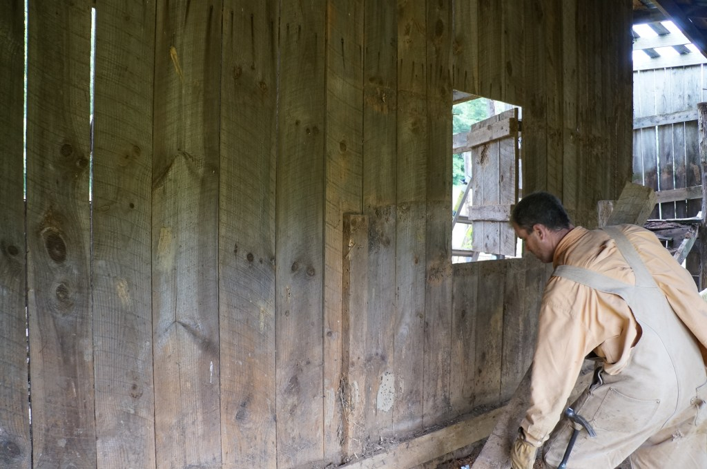 Inside 221 Barn