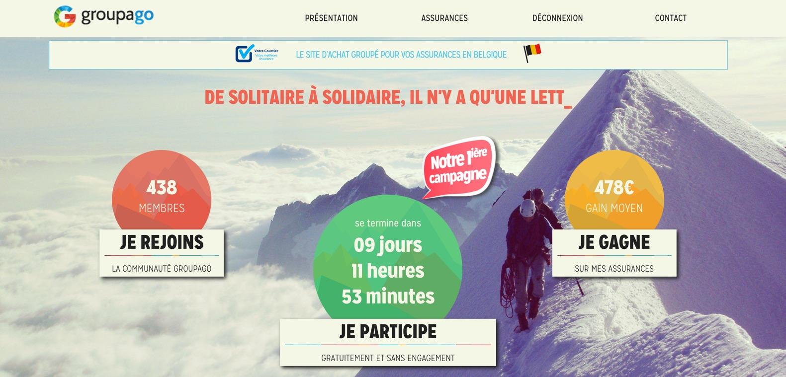 On a testé Groupago, le site d'achat groupé pour les assurances
