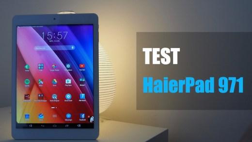 TEST – HAIER HaierPad 971 – Une tablette full HD à 199€ aux airs d'Ipad