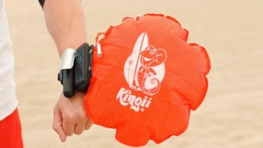 Kingii Portable – Le bracelet qui vous sauve de la noyade