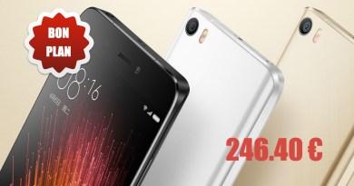 BONPLAN sur le XIAOMI Mi5 – Un smartphone d'exception à 246.40€