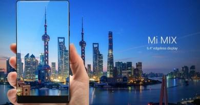 XIAOMI MI MIX – Le designer français Philippe Starck signe un déroutant smartphone sans bord