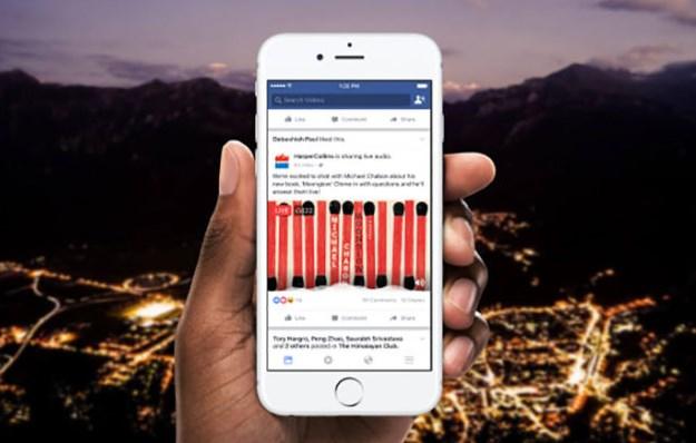 Réseaux sociaux: Facebook se transforme aussi en radio