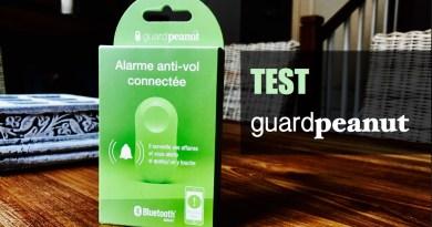 TEST – GuardPeanut veille sur vos affaires personnelles