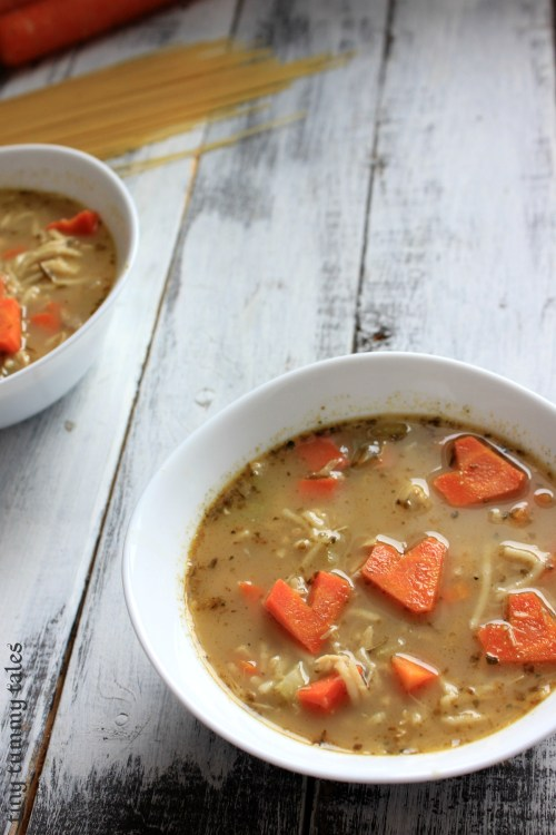 Medium Of Crack Chicken Noodle Soup
