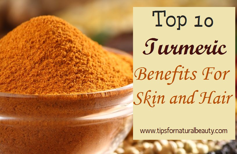 Turmeric benefits for skin and hair