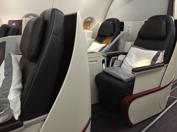 how to choose seats on qatar airways