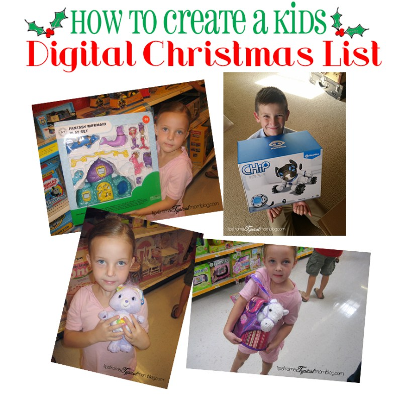How To Create a Digital Christmas Wish List for Your Kids- With a Review for WowWee CHiP