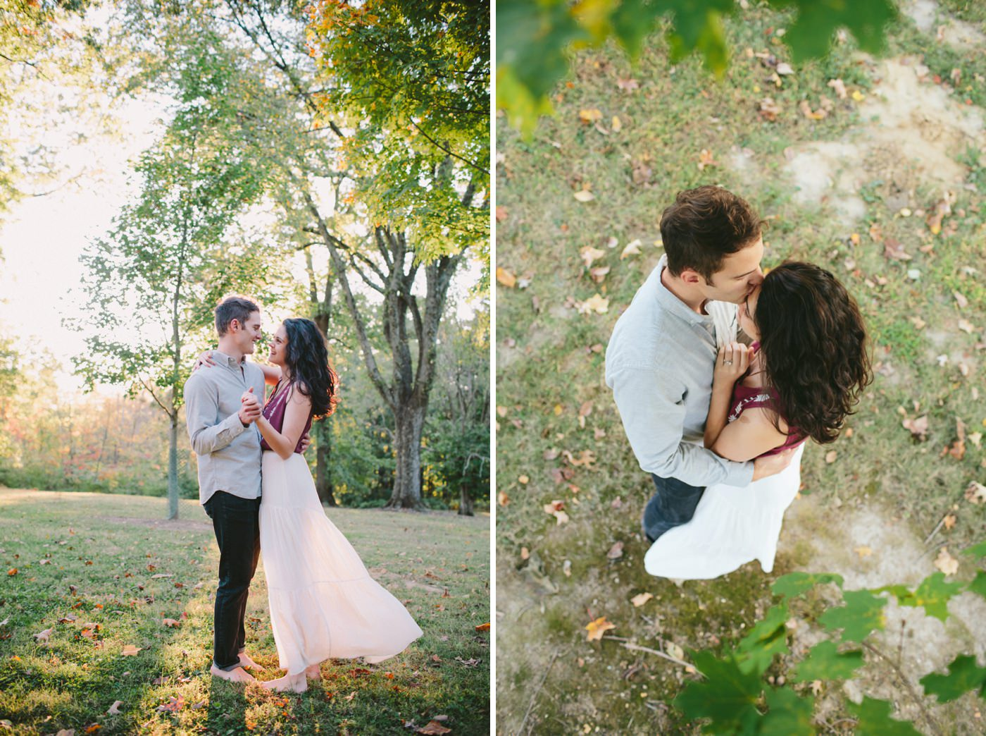Tire Swing Photography | Cincinnati Ohio Woodland Forest Engagement session_0005