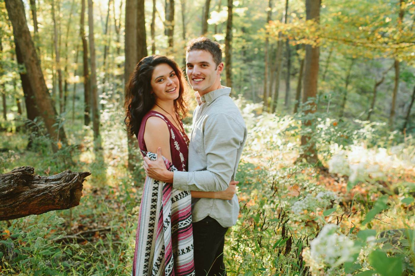 Tire Swing Photography | Cincinnati Ohio Woodland Forest Engagement session_0037