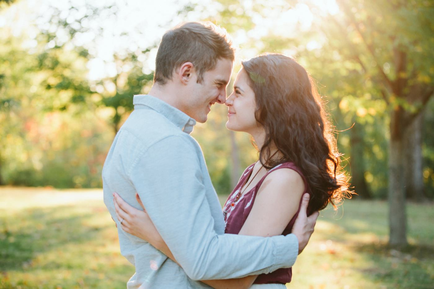 Tire Swing Photography | Cincinnati Ohio Woodland Forest Engagement session_0040