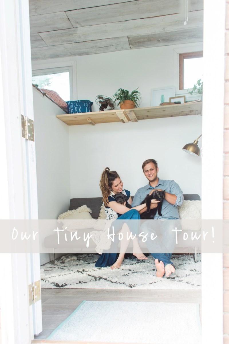 Our Tiny House Tour!! | Cincinnati, Ohio