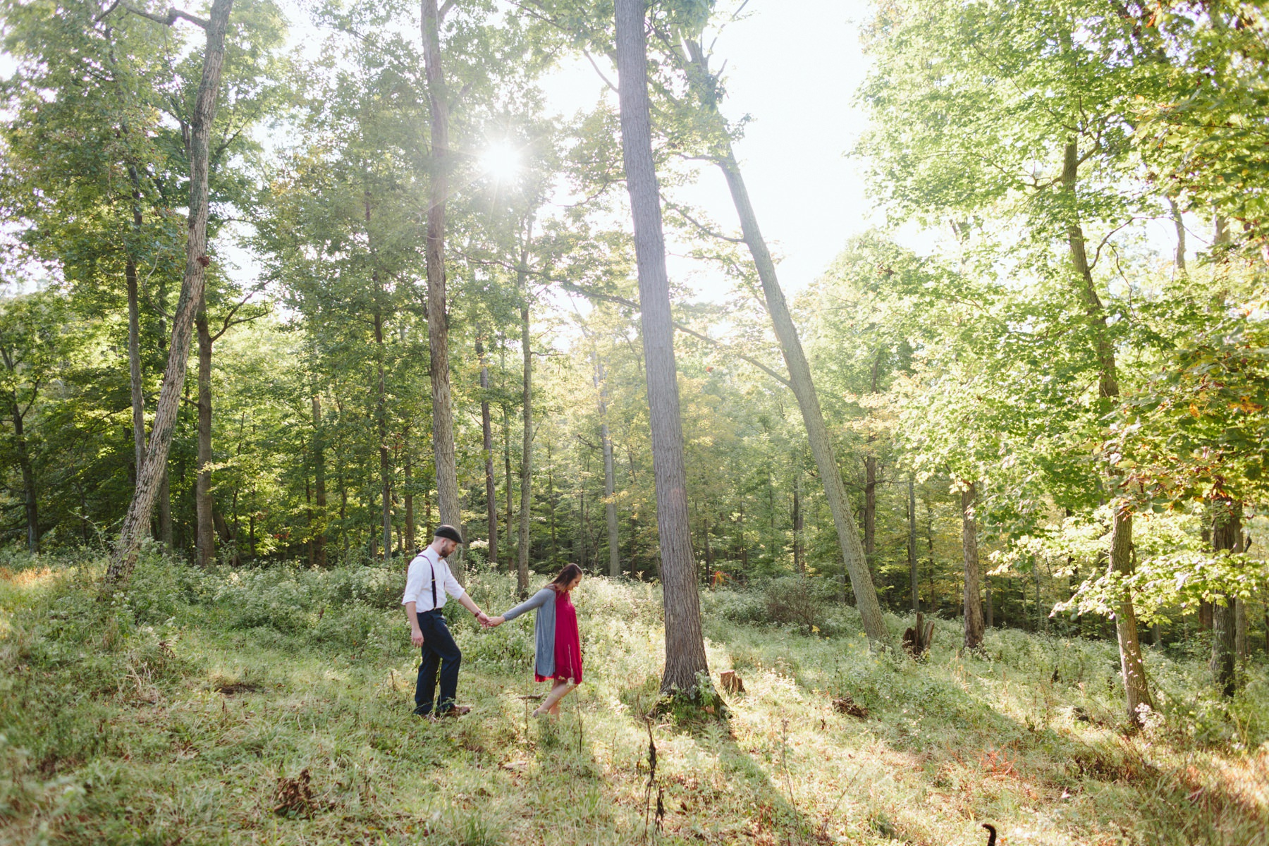 Tire Swing Photography | Kentucky Farm Engagement Session_0019