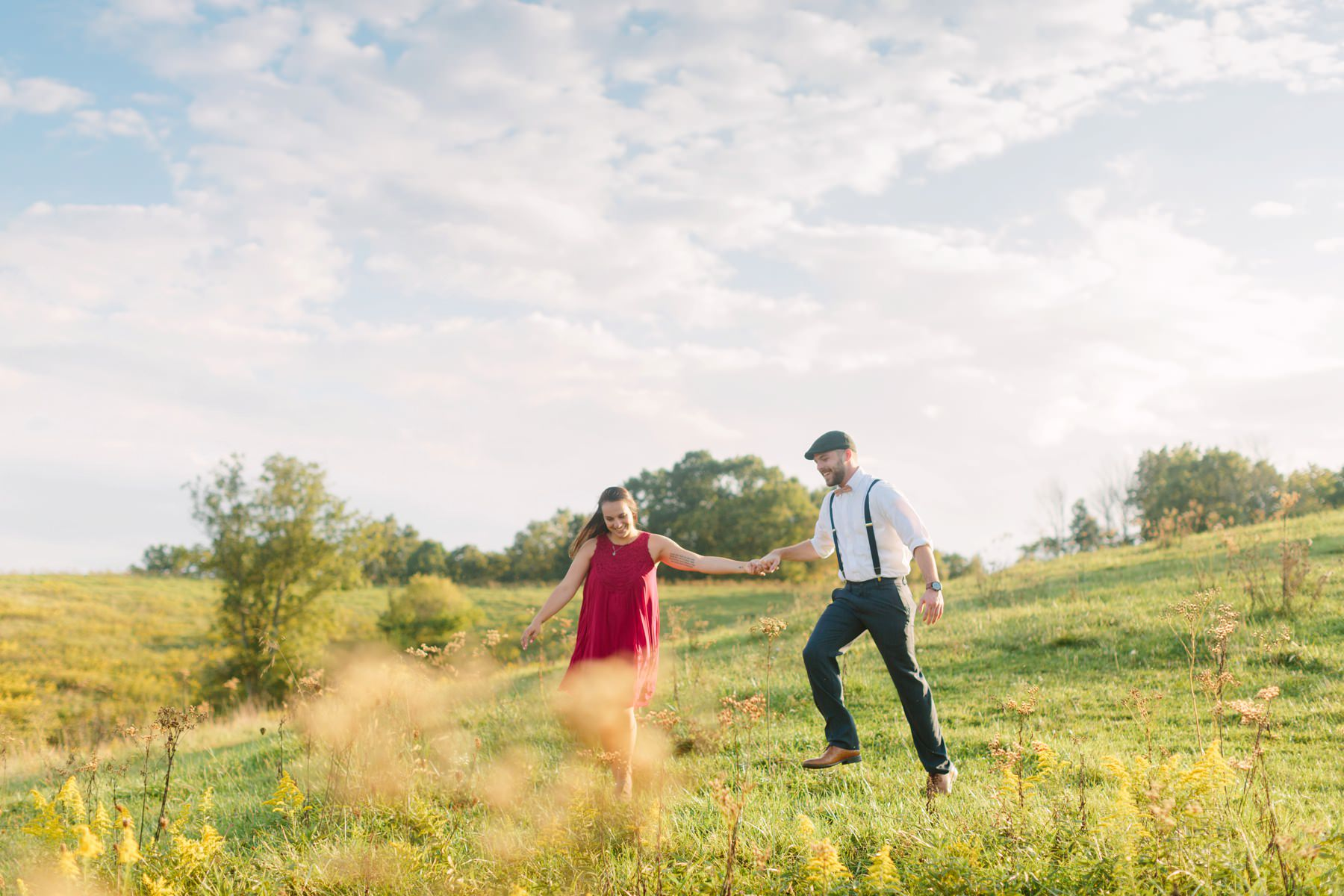Tire Swing Photography | Kentucky Farm Engagement Session_0031