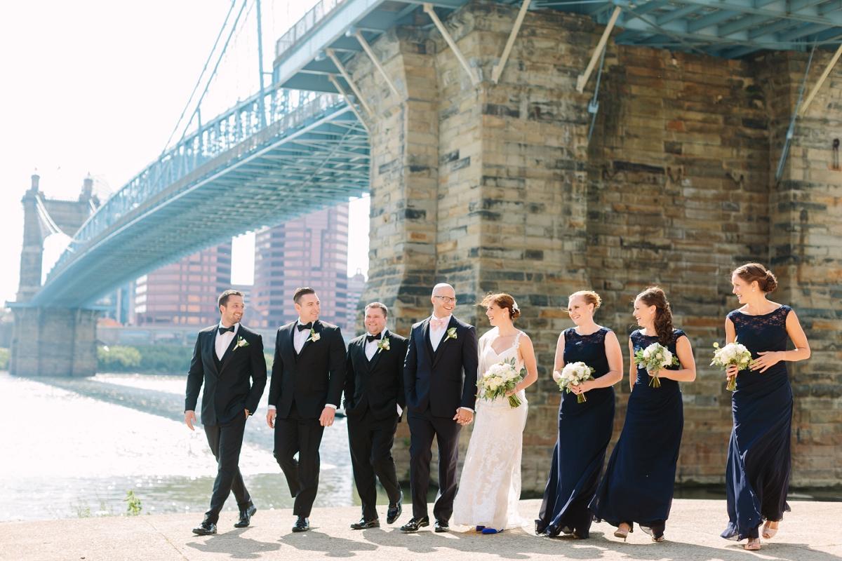 Downtown Cincinnati Smale Riverfront Park . Carnegie Center of Columbia Tusculum Wedding . Tire Swing Photography_0036