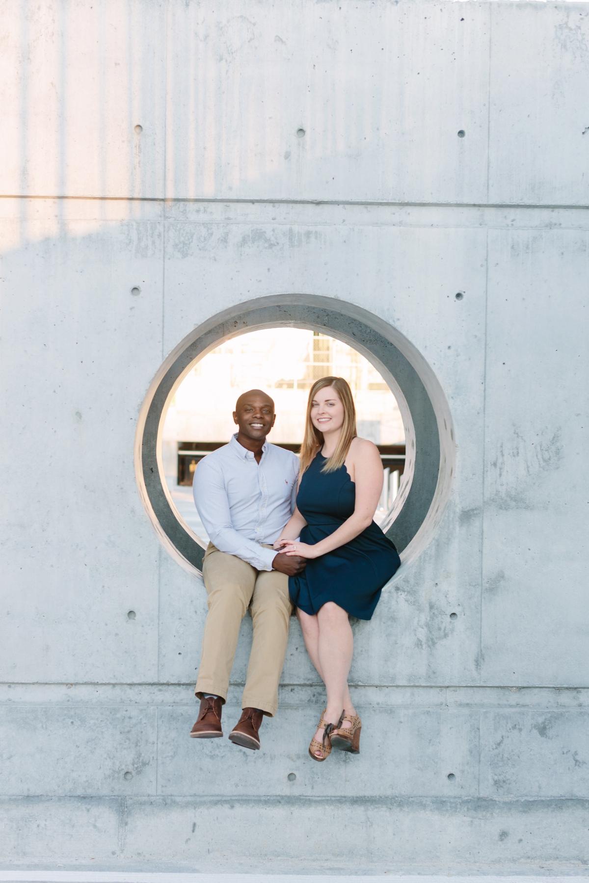 Downtown Cincinnati Engagement Photographers . Tire Swing Photography_0011