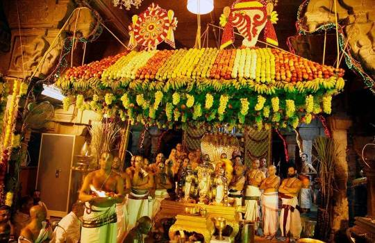 A Holy Ritual In Tirumala Temple