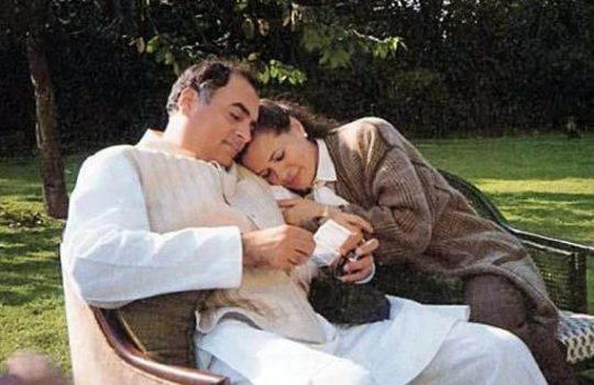 A-Rare-Photograph-Of-Rajiv-Gandhi-With-Sonia-Gandhi