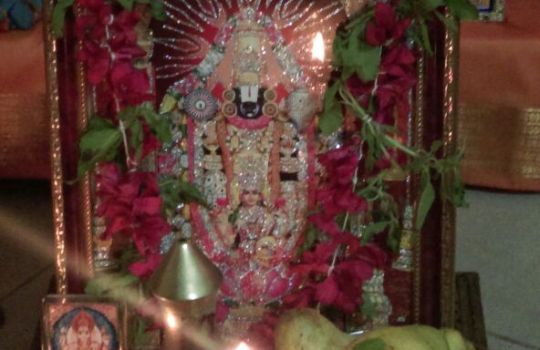 Miraculous Photo Of Lord Venkateswara